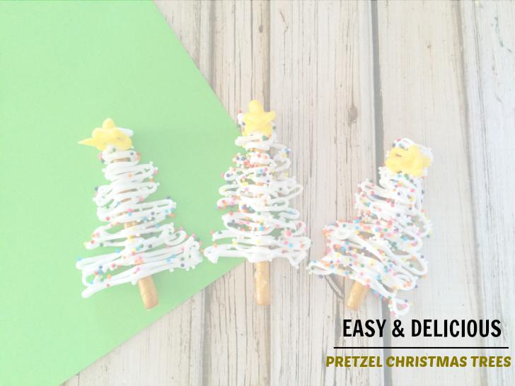 Easy and Delicious Pretzel Christmas Trees