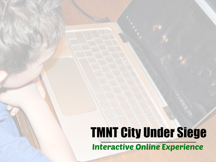 TMNT City Under Siege Interactive Online Experience