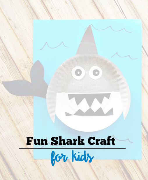 Fun Shark Craft for Kids!