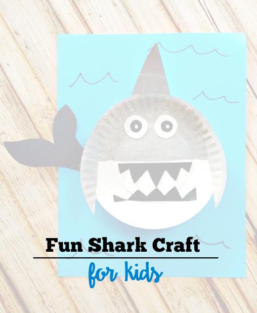 Fun Shark Craft for Kids!