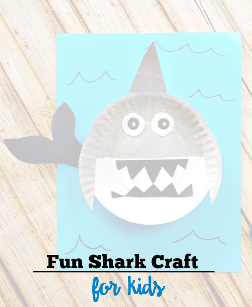 Super Fun & EASY Shark Craft for Kids! - sixtimemommy.com