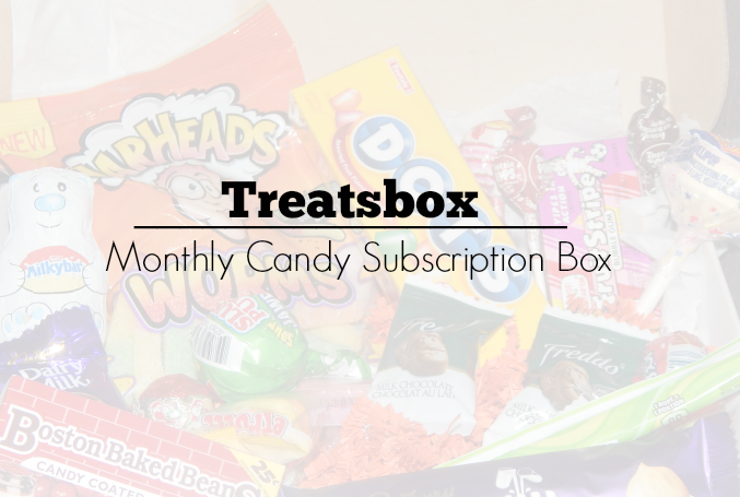 Treatsbox – Monthly Candy Subscription Box