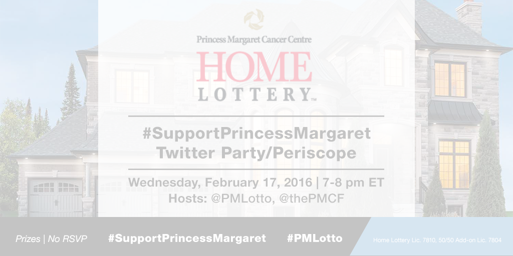 Support Princess Margaret Twitter Party