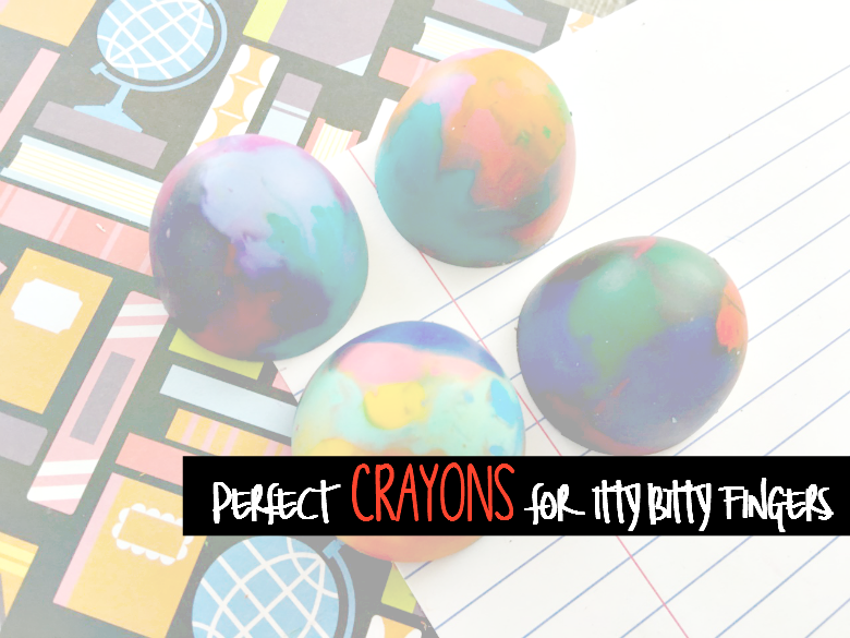 Perfect Crayons for Itty Bitty Fingers