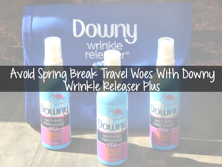 Avoid Spring Break Travel Woes With Downy Wrinkle Releaser Plus