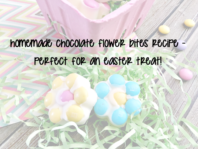 Homemade Chocolate Flower Bites Recipe – Perfect for an Easter Treat!