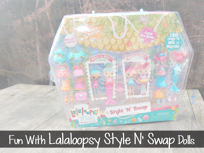 Fun With Lalaloopsy™ Minis Style N' Swap Dolls
