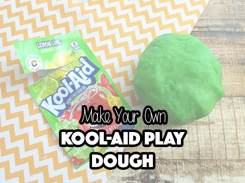 Make Your Own Kool-Aid Play Dough