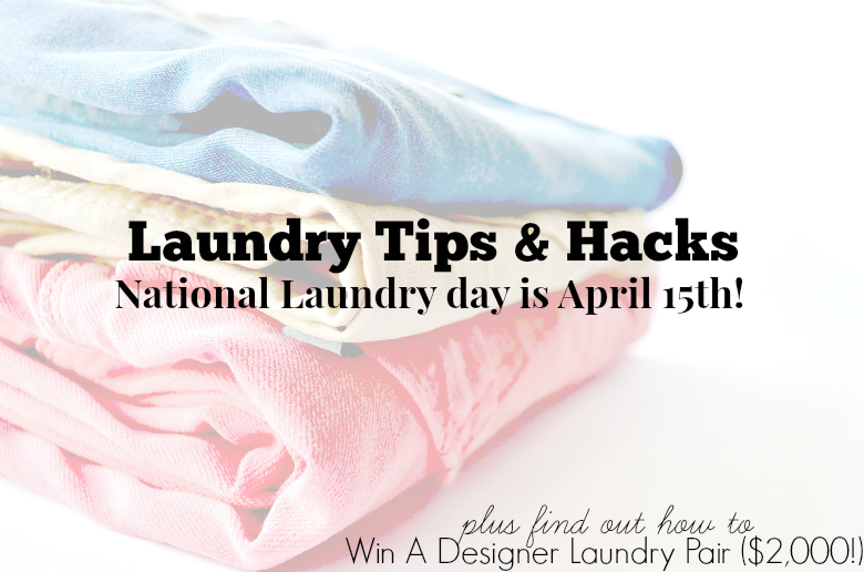 Laundry Tips & Hacks + Win A Designer Laundry Pair (nearly $2,000!)