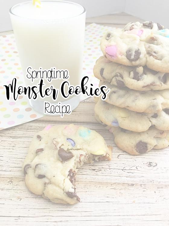 Springtime Monster Cookies Recipe