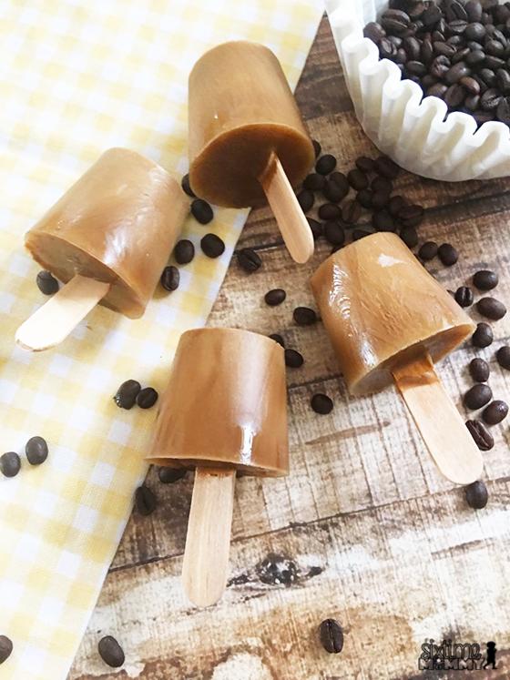 Refreshing Coffee and Cream Ice Pops Recipe - sixtimemommy.com