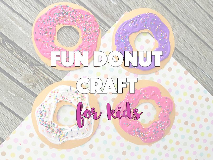 Fun Donut Craft for Kids