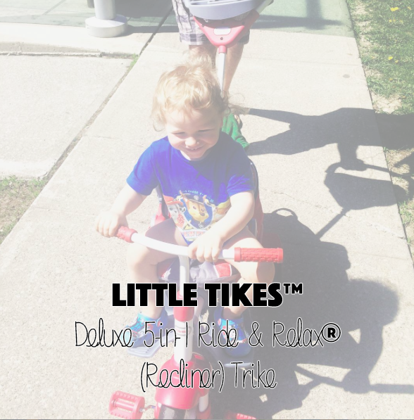 Little Tikes™ Deluxe 5-in-1 Ride & Relax® (Recliner) Trike