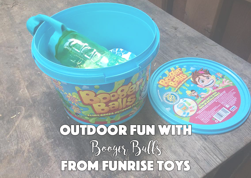 Outdoor Fun With Booger Balls From Funrise Toys