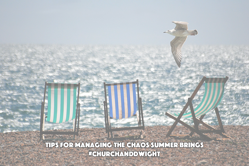 Tips for Managing The Chaos Summer Brings #ChurchandDwight