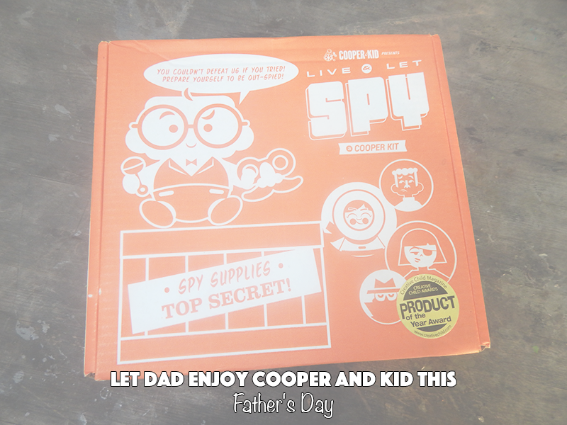 Let Dad Enjoy Cooper and Kid This Father's Day