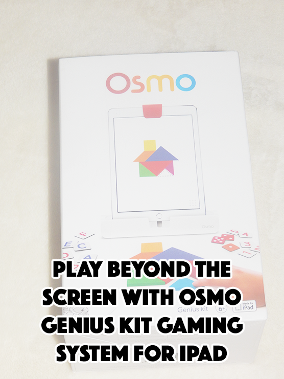 Play Beyond The Screen With Osmo Genius Kit Gaming System for iPad