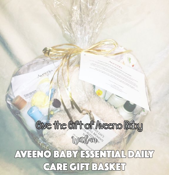 Give the Gift of Aveeno Baby With an Aveeno Baby Essential Daily Care Gift Basket!
