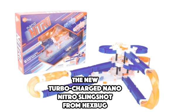 The New Turbo-Charged Nano Nitro Slingshot from HEXBUG