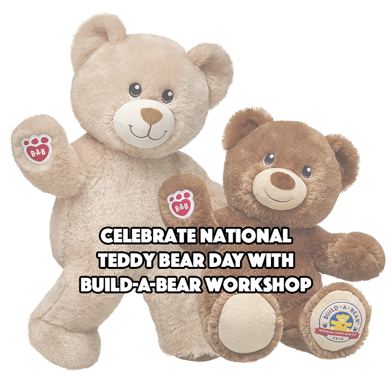 Celebrate National Teddy Bear Day with Build-A-Bear Workshop