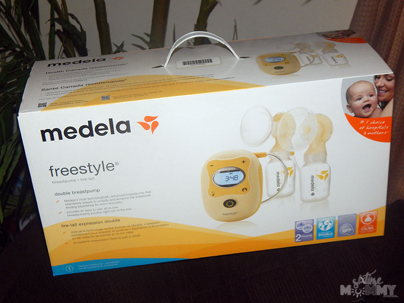 Breastfeeding Made Easier With The Medela Freestyle Double