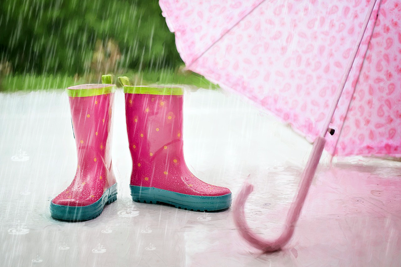 How to Survive a Rainy Day with Kids