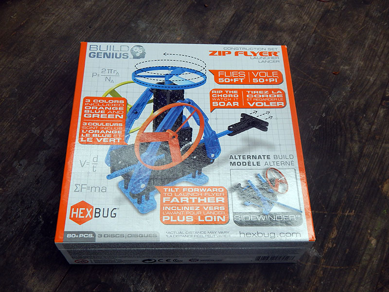 Challenge Yourself and Your Friends With the VEX Robotics Zip Flyers
