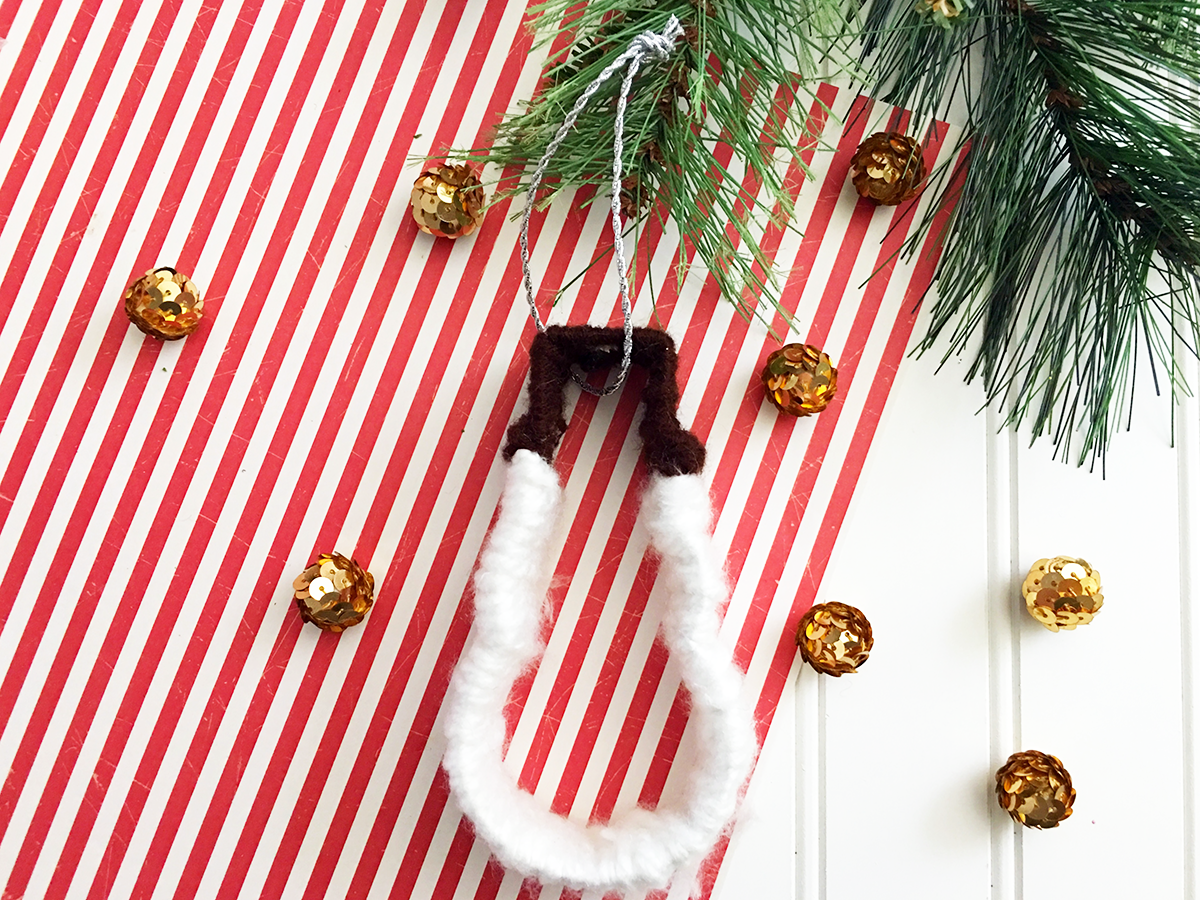 DIY Cookie Cutter Snowman Ornament