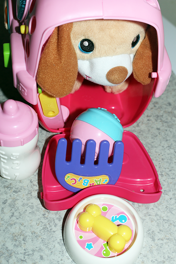 For The Little Pet Lover: Care for Me Learning Carrier by VTECH