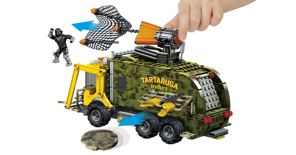 It's Turtle Time! Teenage Mutant Ninja Turtles Battle Truck