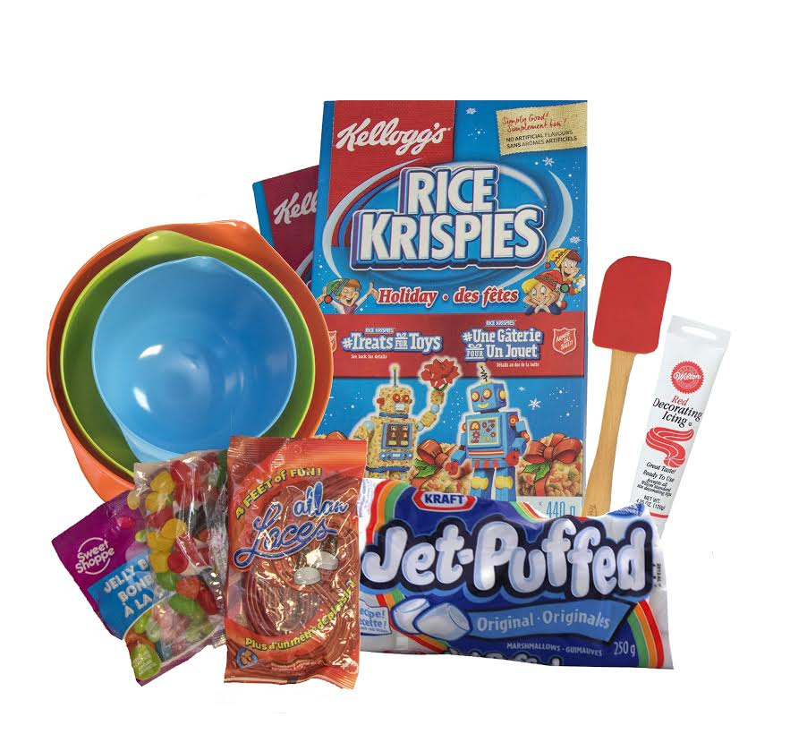 Kellogg's Rice Krispies #TreatsforToys Program + FLASH Giveaway