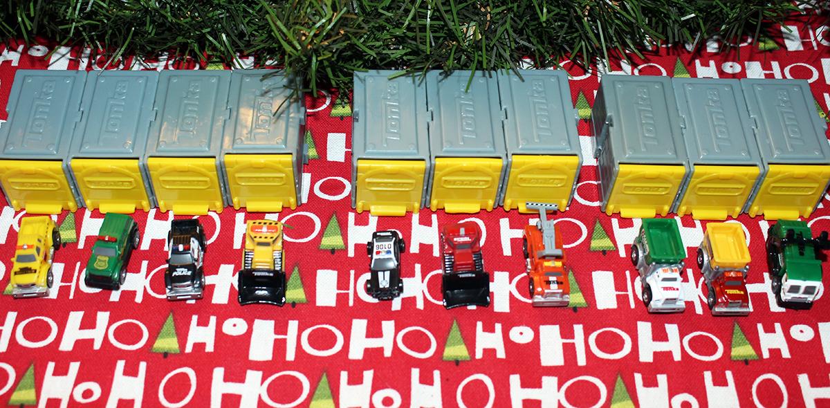 Stocking Stuffer Idea: Fill Them Up With Tonka Tiny's!