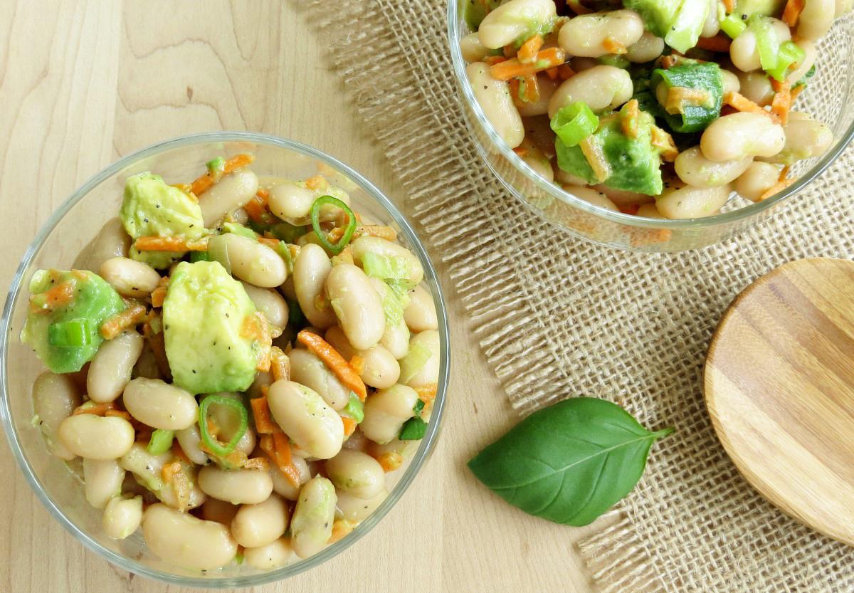 Avocado and Cannellini Bean Salad