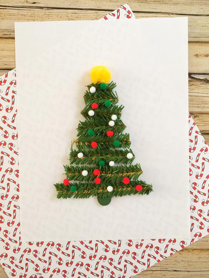 Easy Christmas Tree Craft Kids Will Love