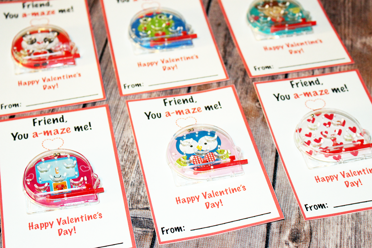 Homemade Valentine's Cards Without Candy | FREE PRINTABLE