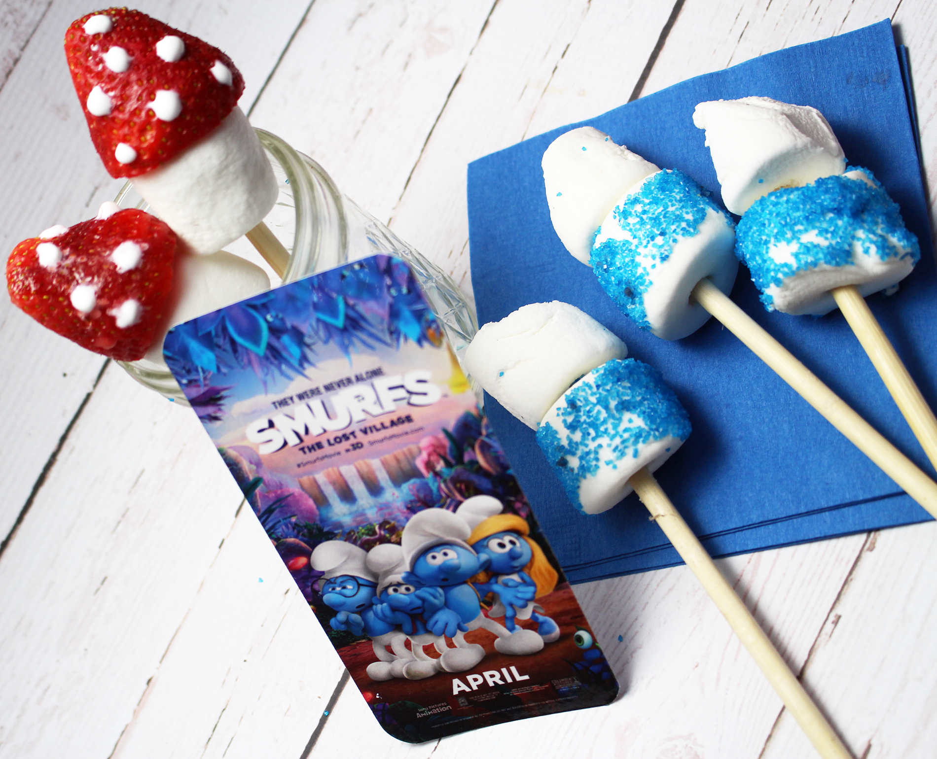Smurfs: The Lost Village is in Theaters 4/7 + Smurfs Treats and GIVEAWAY! #SmurfsMovie