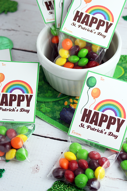 St. Patrick's Day Classroom Treats + FREE PRINTABLE