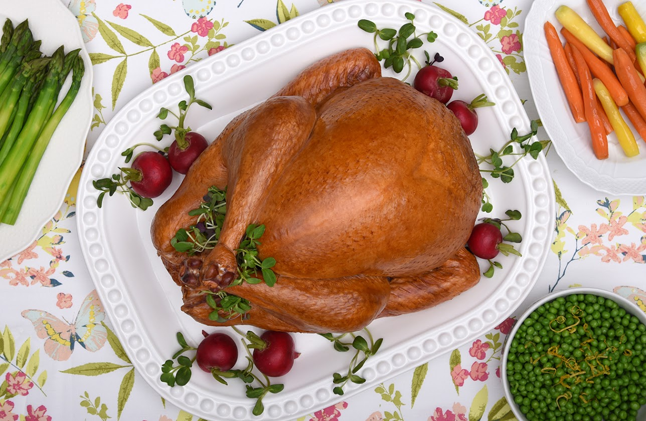Extra Crispy Roast Turkey Recipe + GIVEAWAY #TryTurkey