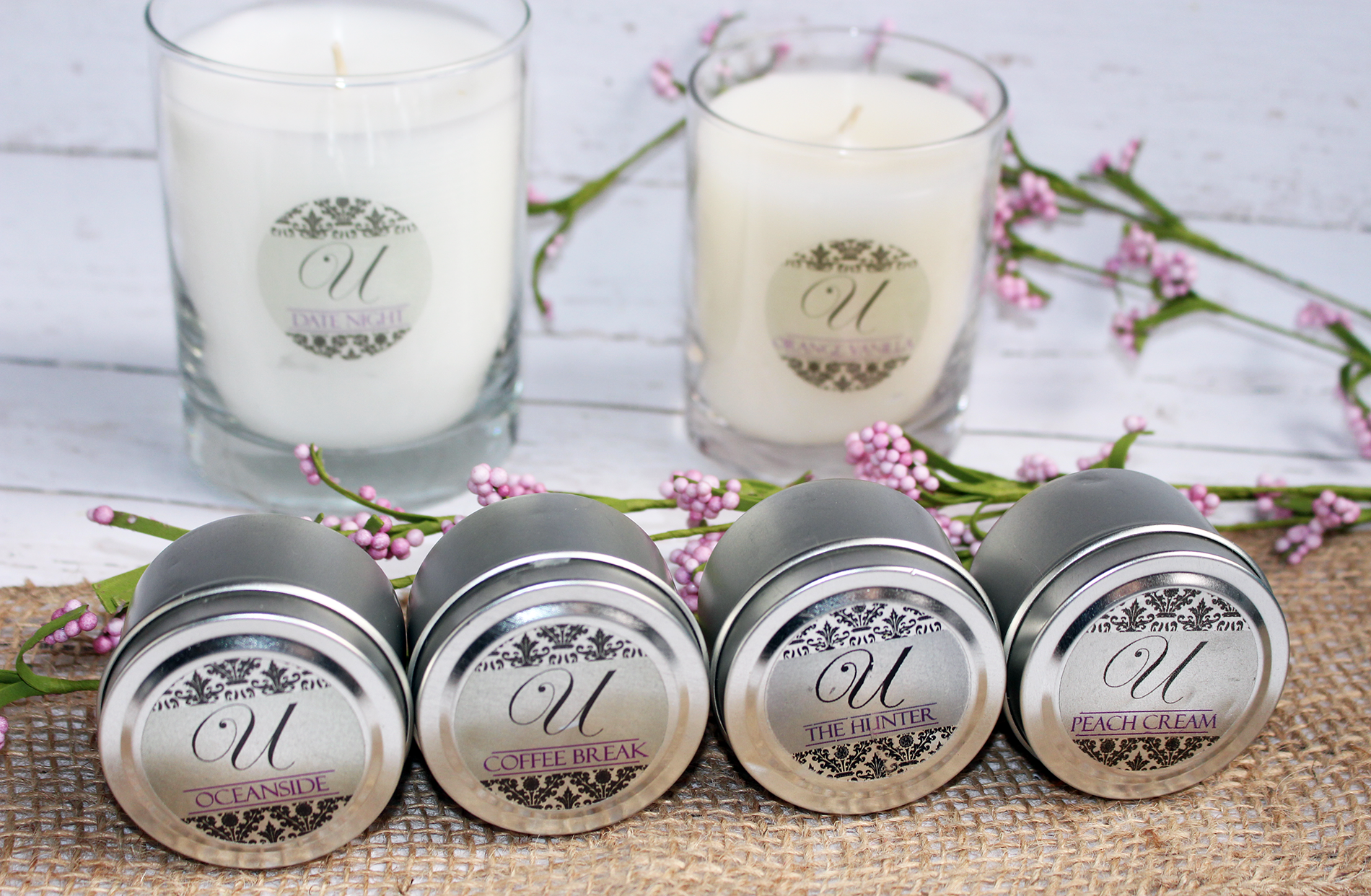 Beautiful Scents and Surprises With Unrivaled Candles