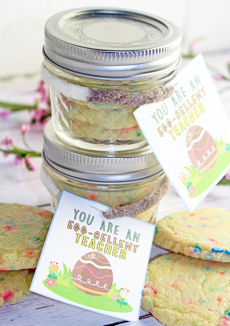 Teacher Easter Gift Idea + FREE Teachers Card Printable