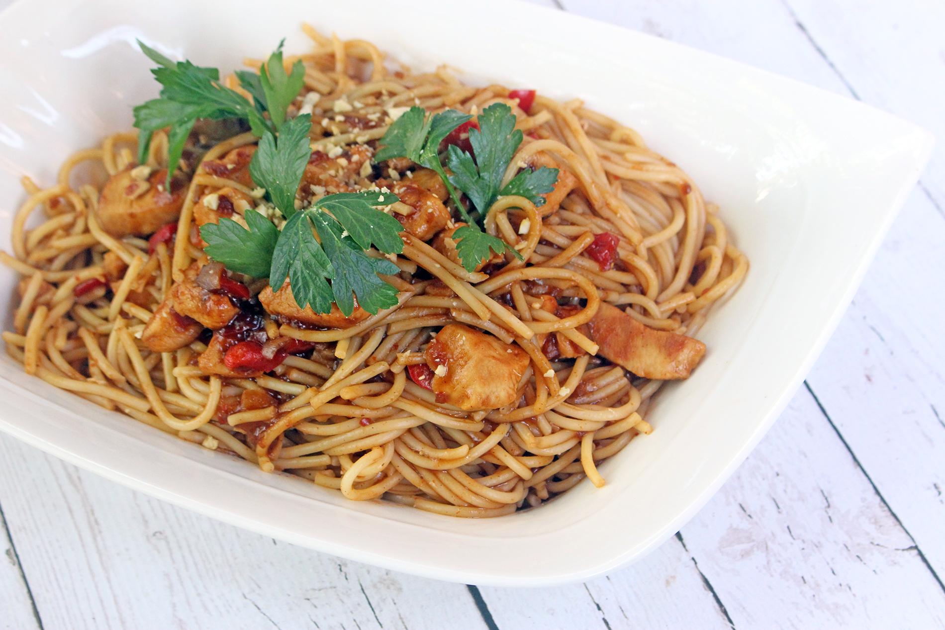 Barilla Gluten-Free Pad Thai Spaghetti Recipe