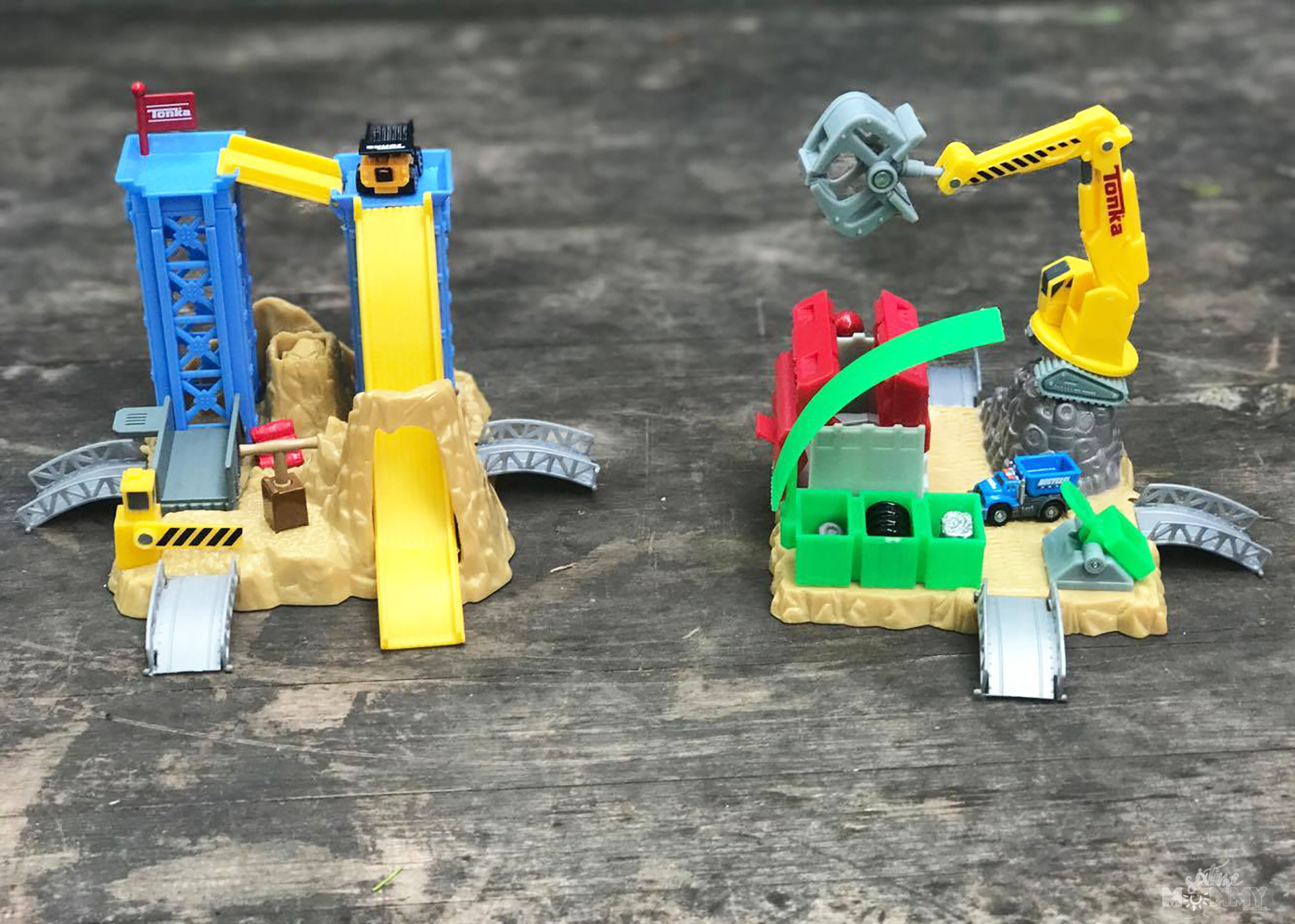 Tonka Tinys Playsets for Spring and Summer Play