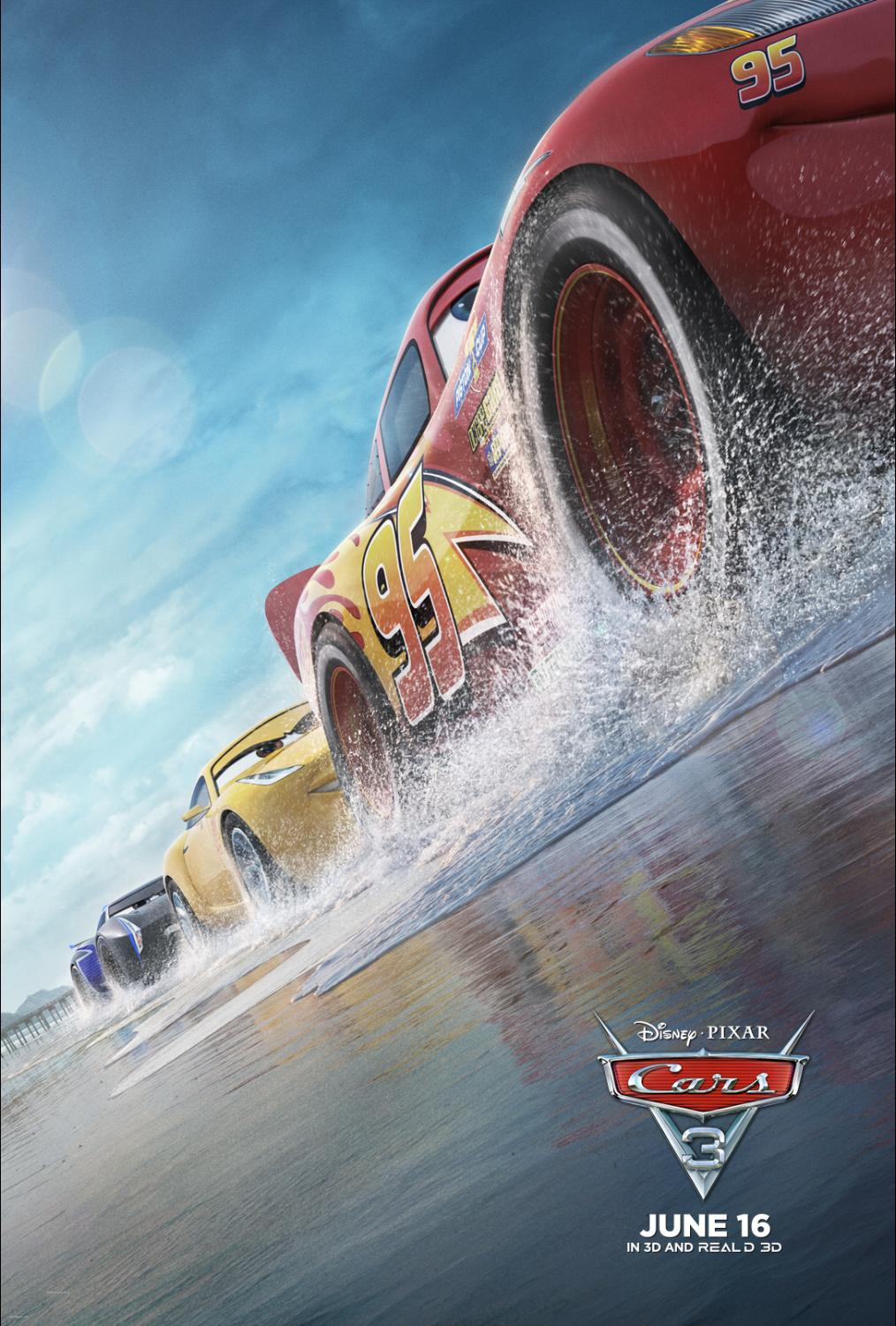 Speeding into Cinemas Near You Today: CARS 3!