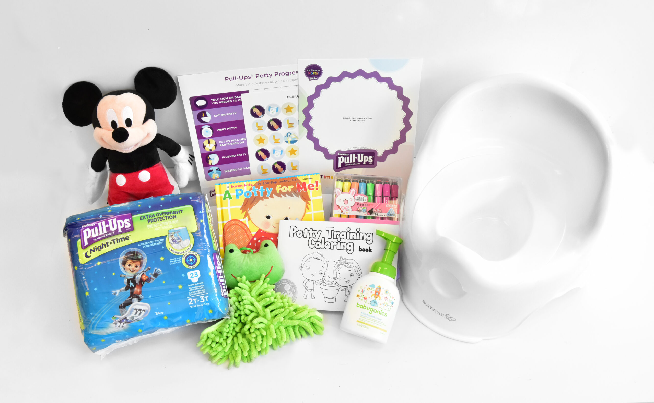 Our Potty Promise With Pull-Ups® – Making Potty Training  A Success + GIVEAWAY! ($120 Retail Value!)