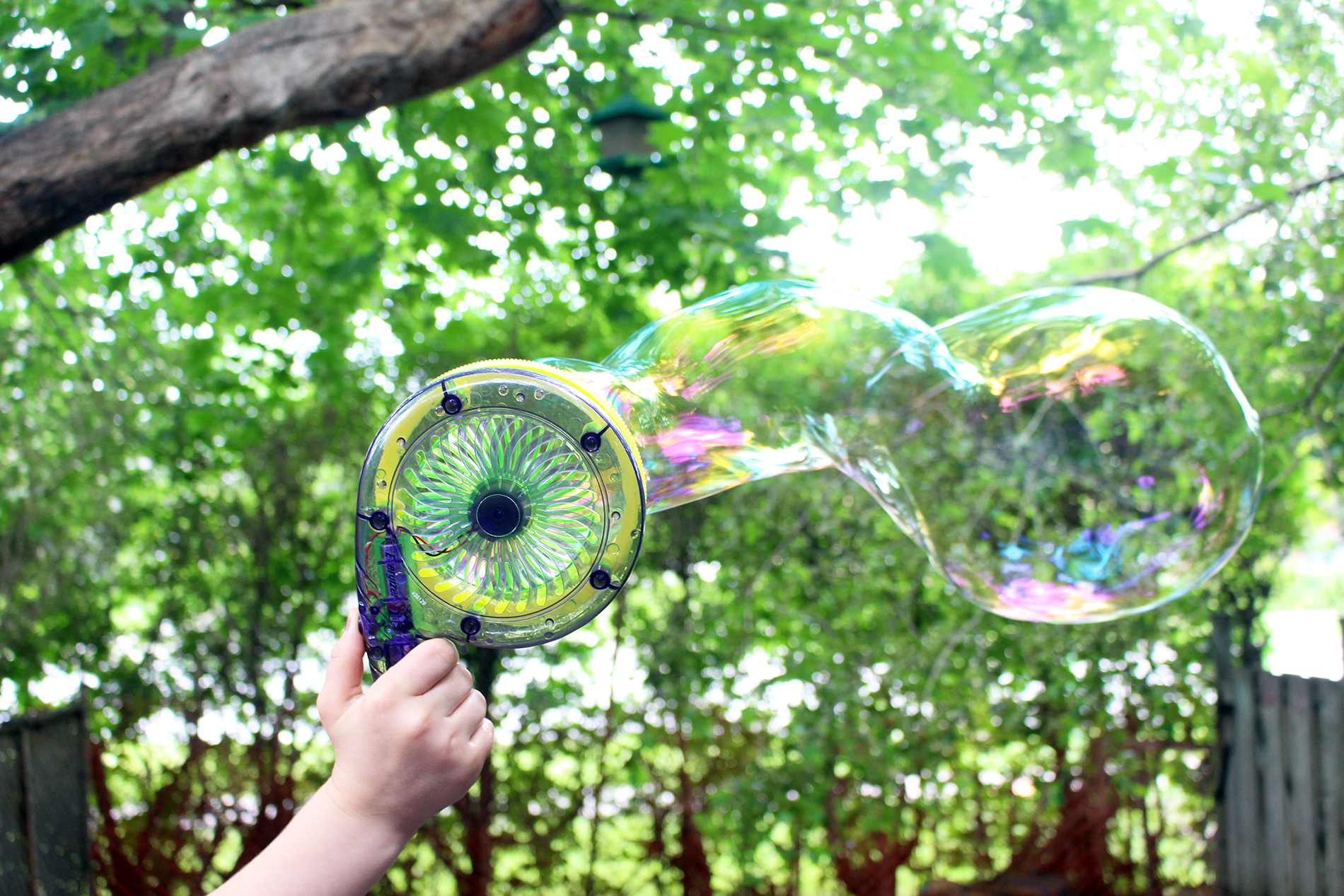 Get Outside This Summer With Gazillion Bubbles!