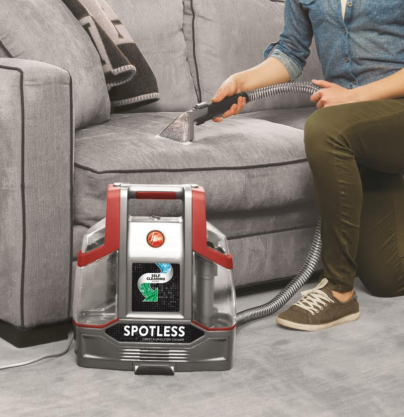 Achieve a Good Deep Clean With the Hoover® Spotless Portable Carpet & Upholstery Cleaner
