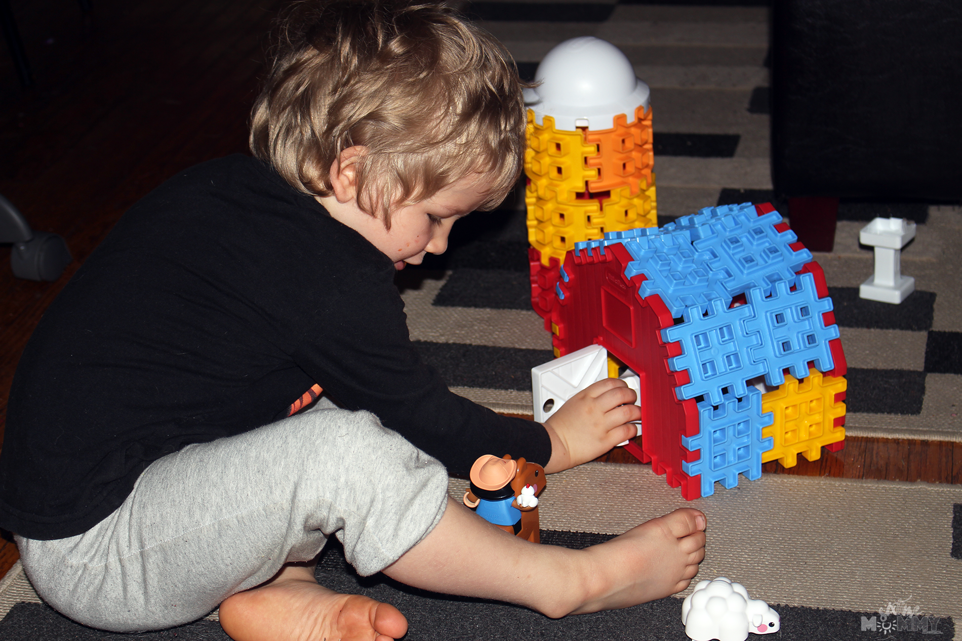 Let Imaginations Run Wild With Little Tikes® Waffle Blocks