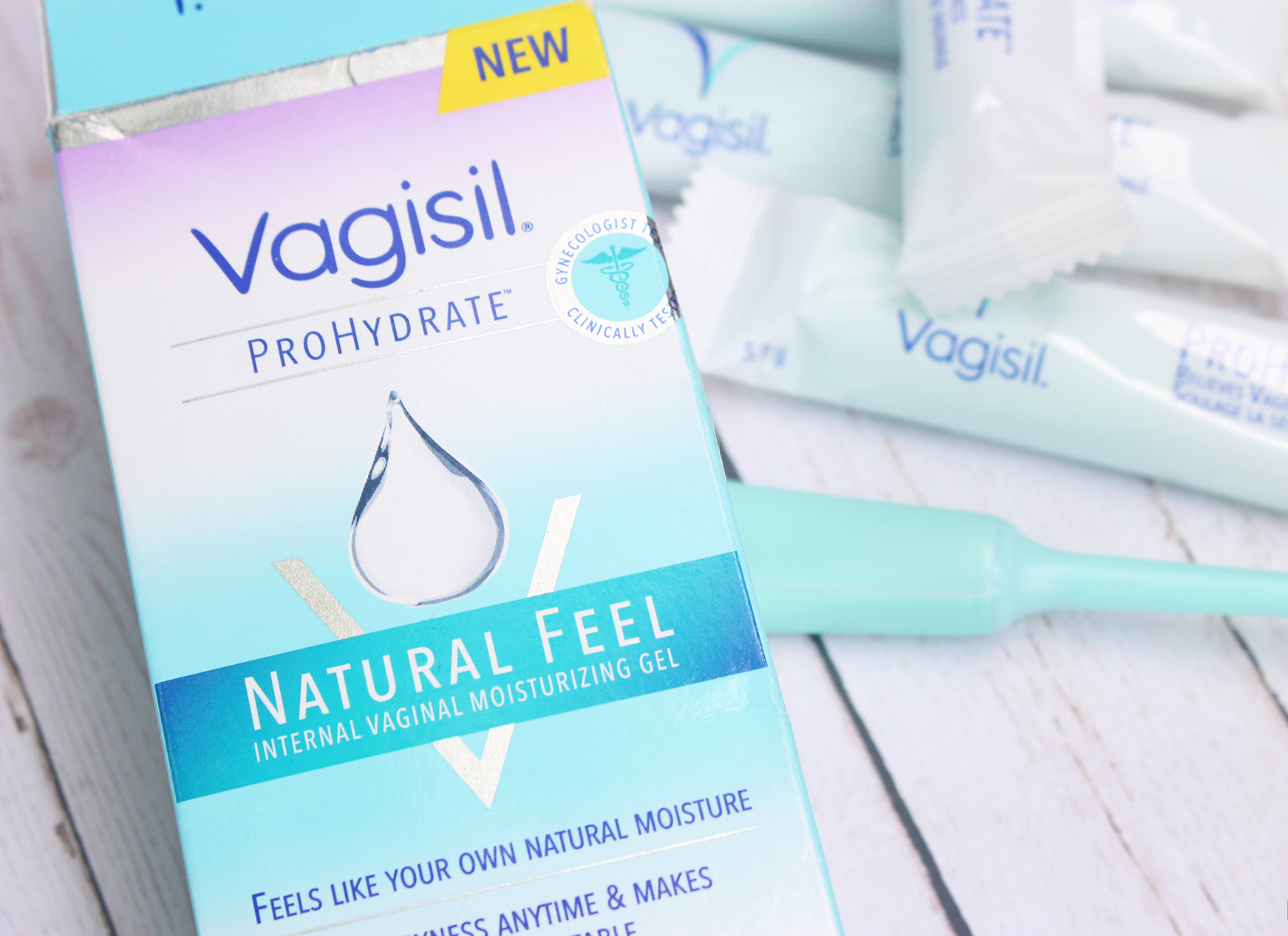 Ladies, Always Feel Your Best With Vagisil ProHydrate Natural Feel Moisturizing Gel