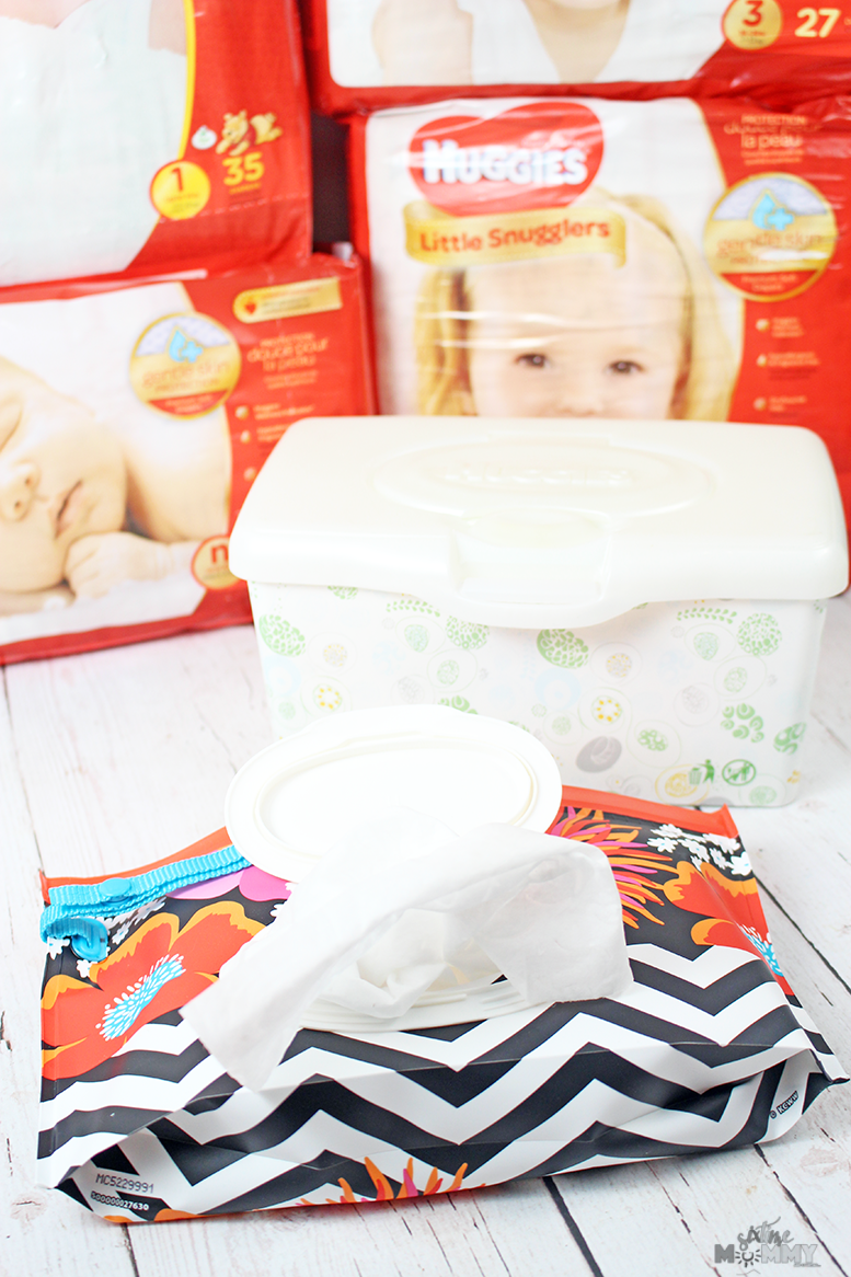 Picking the Right Diapers and Wipes for Your Newborn + GIVEAWAY!