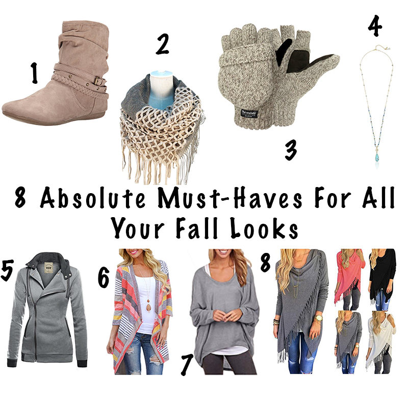 8 Absolute Must-Haves For All Your Fall Looks